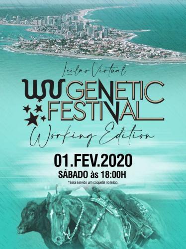 Leilão Virtual WV Genétic Festival - Working Edition