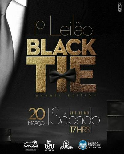 1º Leilão Black Tie - Barrel Edition