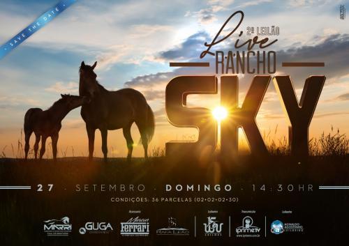 2º Leilão Live Rancho Sky