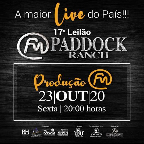 17º Leilão Paddock Ranch - Produção FM