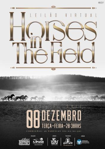 Leilão Virtual Horses In The Field