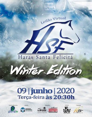 2º Leilão Virtual Haras Santa Felicitá - Winter Edition