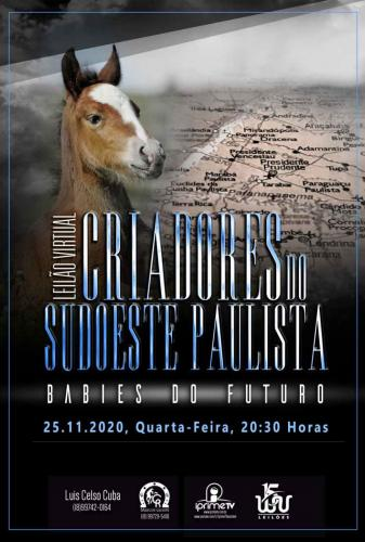 7º Leilão Virtual Criadores do Sudoeste Paulista