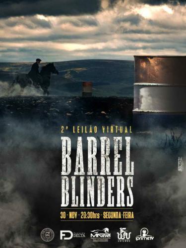 3º Leilão Virtual The Barrel Blinders