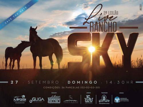 3º Leilão Rancho Sky e Convidados