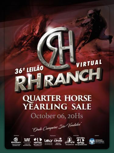 Leilão Virtual RH Ranch Quarter Horse Yearling Sale