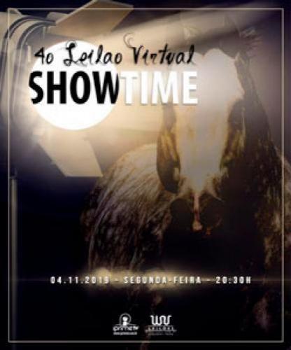 Leilão Virtual Show Time