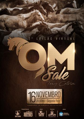 Leilão Virtual QM Sale - Tony Cotrim