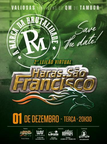 3º Leilão Virtual Haras São Francisco
