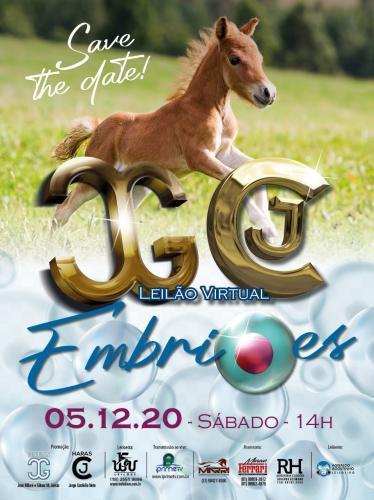 Leilão Virtual Haras J Garcia & Haras JC - Embriões