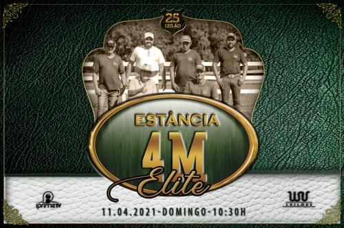 25º Leilão Live Estância 4M - Elite