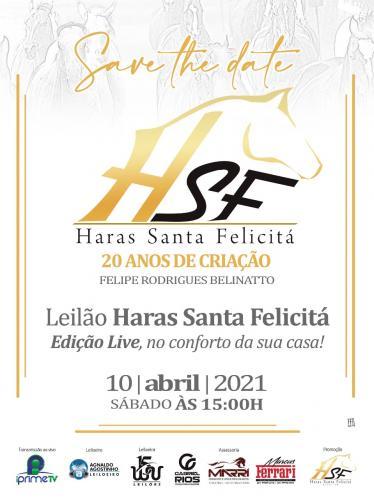 Leilão Haras Santa Felicitá