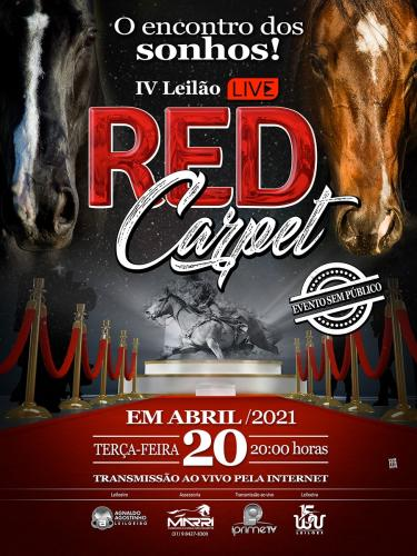 IV Leilão Live Red Carpet