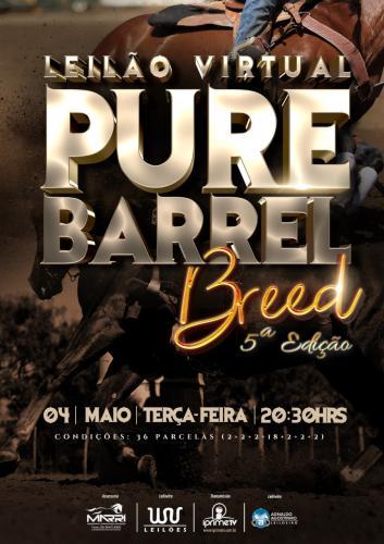 Leilão Virtual Pure Barrel Breed - 5ª EDIÇÃO