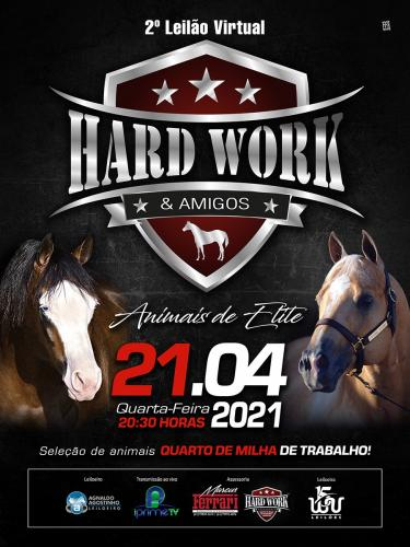2º Leilão Virtual Hard Work QM e Amigos - Animais elite