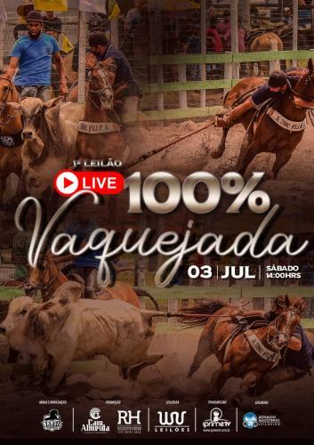 1º Leilão Virtual LIVE 100% Vaquejada