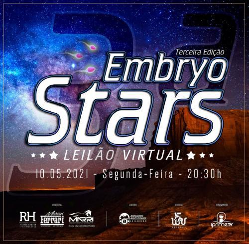 3º Leilão Virtual Embryo Stars
