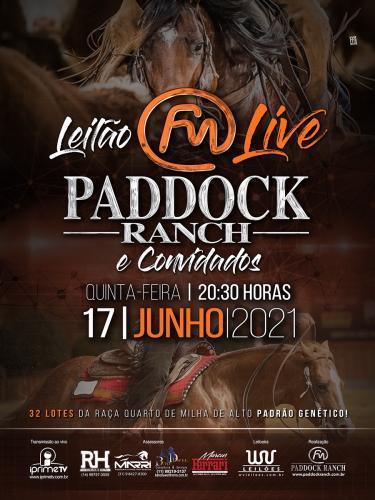 Leilão Live Paddock Ranch e Convidados