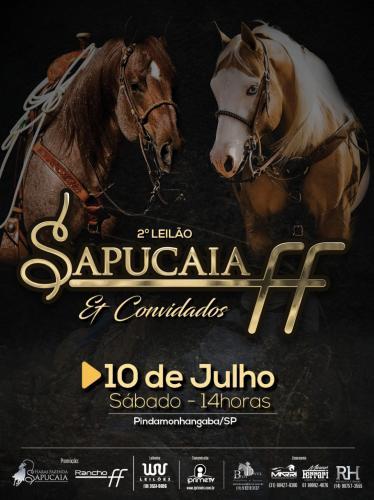 2° Leilão Haras Fazenda Sapucaia, Rancho FF e Convidados
