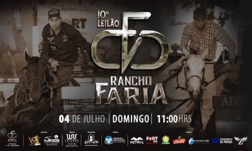10º Leilão Live Rancho Faria