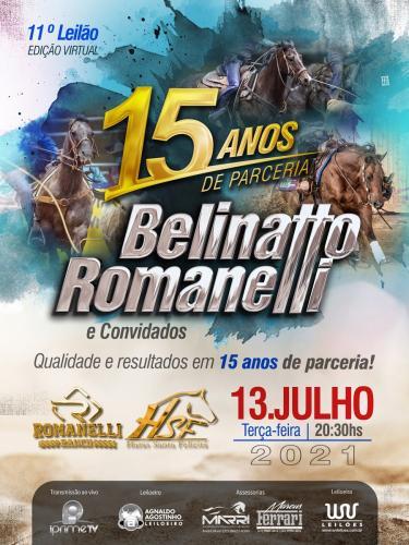 11º Leilão Belinatto & Romanelli e Convidados