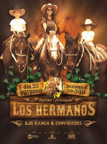 3º Leilão Virtual Los Hermanos - BJR Ranch e Convidados
