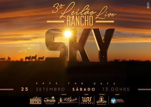 3º Leilão Live Rancho Sky