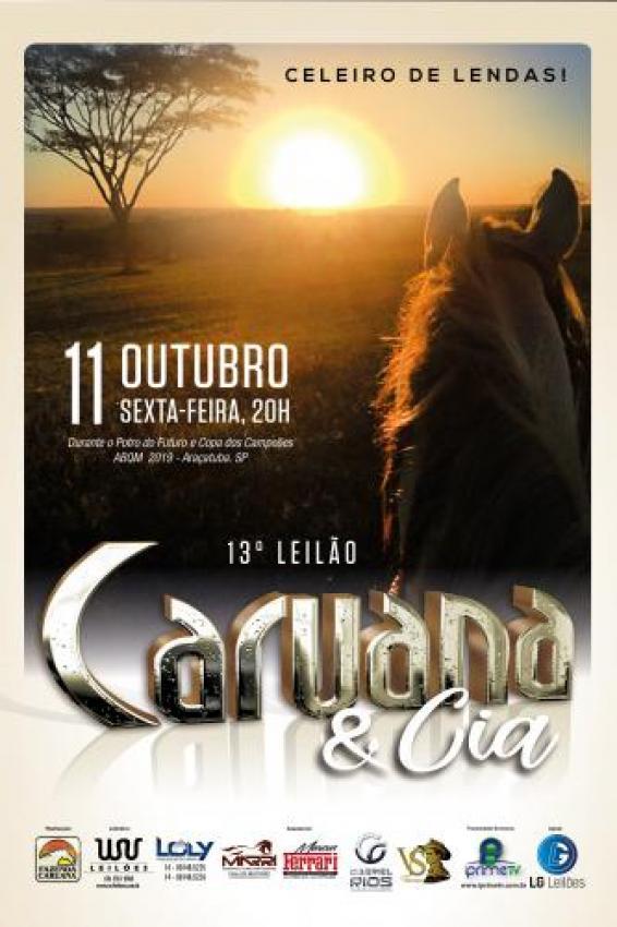 Confira as Fotos - 13° Leilão Caruana e Cia